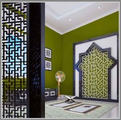 47 Praying Room Interior Design That You Can Try In Your Home # Design Prayer Corner, Prayer Room, Room Interior Design, House Plans, Prayers, Design Inspiration, Design Ideas, House Design, Decoration