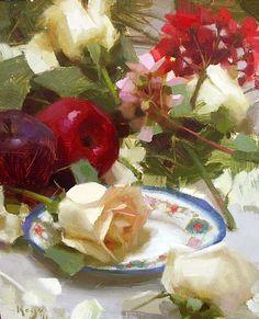 """Daniel Keys: """"Roses and Apples"""""""