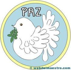 Paloma de la paz-color