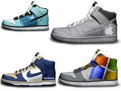 #Bambas Nike: Twitter, Appel, Facebook, Windows.  #wearbambas #moda http://www.wearbambas.com