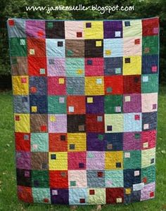 It's going to be shown at the International Quilt Market in Utah. Scrappy Quilts, Easy Quilts, Quilting Projects, Quilting Designs, Sunflower Quilts, Sunflower Seeds, Colorful Quilts, Contemporary Quilts, Square Quilt