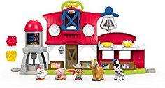 Amazon.com: Fisher-Price Little People Caring for Animals Farm Playset: Toys & Games