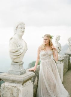 Roman Romance at Villa Cimbrone on the Amalfi Coast of Italy - KT Merry Photography