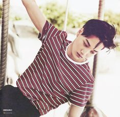 Kim Jong-in (born January better known as Kai, is a South Korean singer and actor. He is a member of the South Korean-Chinese boy group EXO and its sub unit EXO Exo Kai, Sehun And Luhan, Chanyeol, Tao, Chen, Exo Album, Exo Korean, Korean Idols, Kaisoo