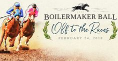 Don your best derby hat, place your bets, and meet at the winner's circle for the 2018 #BoilermakerBall at the Indianapolis Marriott Downtown.    Register now to join fellow Purdue alumni February 24, 2018, for an unbridled evening of elegance!  #ad