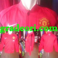 Jersey Bola MU: Jaket Bola Grade Ori Manchester United Red