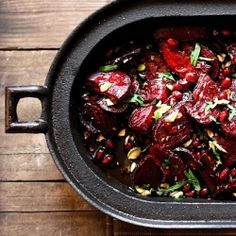 Moroccan Roasted Beets