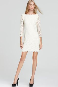 17 Non-Bridal Dresses For The Low-Key Bride #refinery29  http://www.refinery29.com/wedding-dress-search#slide5