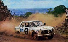 Peugeot 404 East African Safari Rally (1966).