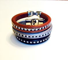 Browband Inspired Leather Bracelet | Bridle Bling Equestrian Jewelry, Equestrian Fashion, Equestrian Style, Texas Pride, Wild West, Fashion Accessories, Bling, Belt, Inspired