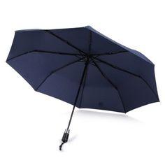 Tropical Green Leaves Giant fashion print cute Windproof automatic tri-fold umbrella sun UV protection Sun umbrella