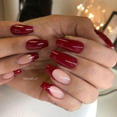 City Nails, Cute Acrylic Nails, Coffin Nails, Nail Designs, Beauty, Ongles, Long Fingernails, Nail Desings, Beauty Illustration