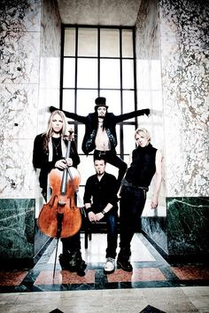 Apocalyptica : love to watch their videos. They are awesome to watch play.