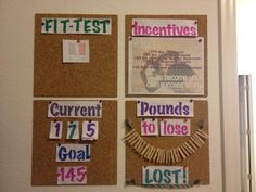 My Motivation Board! Now to move some pins!