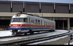 RailPictures.Net Photo: Amtrak Amtrak French Turboliner at Milwaukee, Wisconsin by Tom Farence
