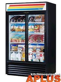 """#True 47"""" Slide Glass Door Merchandiser Refrigerator 78"""" HeightModel: GDM-41The worldÆs #1 manufacturer of glass door merchandisers. Oversized, factory balanced,..."""