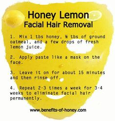 Honey Permanent Facial Hair Remover
