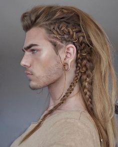 Vikingos Vikingos The post Vikingos appeared first on Frisuren Blond. # Braids for men faux hawk Vikingos - Frisuren Blond Viking Braids, Mens Braids, Male Hairstyles, Braided Hairstyles, Viking Hairstyles, Drawing Hairstyles, Long Hairstyles For Men, Weird Hairstyles, Fantasy Hairstyles