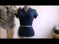 Como tomar las medidas para hacer los básicos - Taking measures to the female body - YouTube