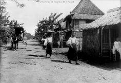 Vintage photo of Sampaloc Manila, Philippines Philippines People, Regions Of The Philippines, Les Philippines, Philippines Culture, Historical Pictures, Historical Sites, Old Photos, Vintage Photos, Subic Bay