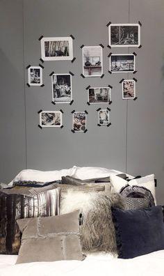 Réalisez une tête de lit originale avec des photos et du Masking Tape !