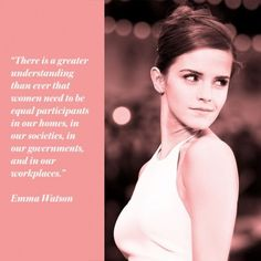 Inspiring quotes for from Emma Watson http://www.redonline.co.uk/red-women/blogs/inspiring-women-speaking-up-for-international-womens-day