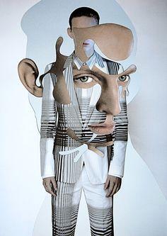 fashion victim collage Damien Blottière | Cut & Paste | bumbumbum