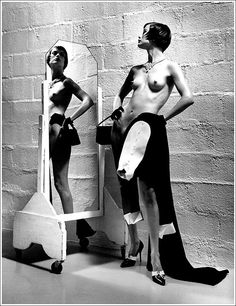 Carolyn Murphy  by Helmut Newton