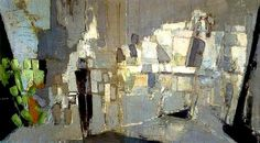 """Nicolas de Staël - """"L& (January Saint Petersburg – M. Abstract Landscape Painting, Landscape Paintings, Abstract Art, Oil Paintings, Action Painting, Figure Painting, Art Informel, Tachisme, Georges Braque"""