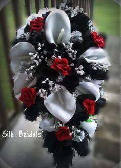 Rockabilly Wedding Bouquet idea