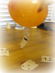 Ghostastic Science - great science activity for Halloween