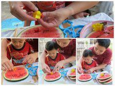 K i d i v i t i e s: แหม ชอบแตงโมจริงๆเลย