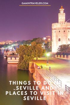 Best Things to do in Seville, Spain and Best places to visit in Seville in our full travel guide Europe Destinations, Europe Travel Tips, European Travel, Travel Guides, Travel Advice, Spain And Portugal, Portugal Travel, Cool Places To Visit, Places To Go