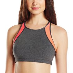 Roxy Womens Kubia Sports Bra Granatina Large >>> For more information, visit image link.Note:It is affiliate link to Amazon.