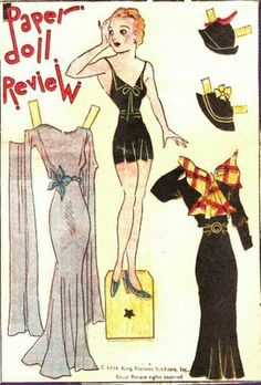The Paper Doll   Review - The Paper Collector