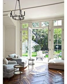 French doors for back patio