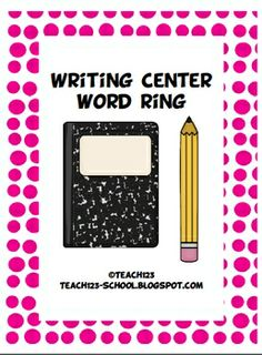 FREE Use these 95 words from Dolch Noun List to make a word ring. Students at your writing center will look at the word ring when they need topics to write about.