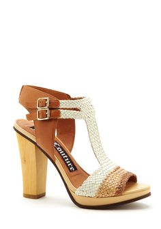 Crista 2 Woven Sandals in Eggshell. Last chance to wear summer shoes :)