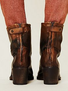 Blur Zipper Ankle Boot at Free People Clothing Boutique