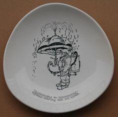 Kjell Aukrust tallerken - Selges av thoters fra Oslo på QXL.no Oslo, Plates, Tableware, Illustration, Kunst, Plate, Dinnerware, Griddles, Tablewares