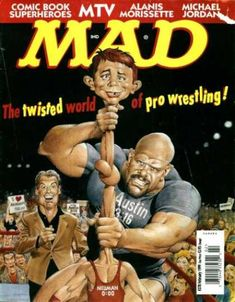 mad magazine in Books, Comics and Magazines Mad Magazine, Magazine Covers, Rick And Morty Poster, Mad Tv, Pokemon, Mad World, You Mad, Vintage Comics, Funny Kids