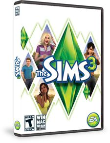 """There's nothing like a good game of """"The Sims"""" to take me away from it all for a few hours.  This virtual world game lets you create and control your very own Sims, their homes, their towns & their families...totally FUN!"""