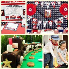 Fiestas temáticas infantiles: Trenes