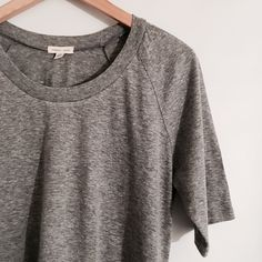 Silence + Noise Melange Gray T Shirt Silence + Noise Melange Gray T Shirt Super soft & easy t-shirt with zippers. Worn once! Like New Condition Size L, fits like M  silence + noise Tops