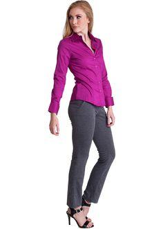 Tailored Long Sleeve Shirt  #dressshirt #tailoredshirt #officewear #businesswear