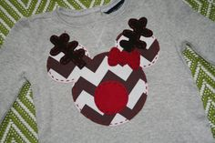Rudolph Mickey Shirt Christmas  @Linda Howell Kittel adding this to my list for you :)