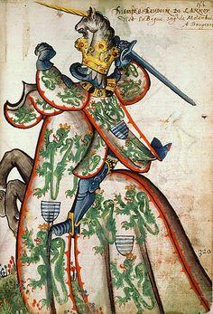 Tout sur l'héraldique : dessin de blasons et d'armoiries: Armorial équestre de la Toison d'Or : Baudouin de ...