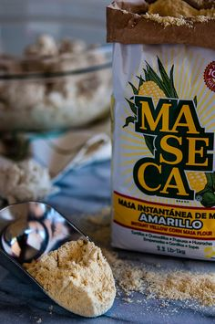 Masa Harina or ground flour
