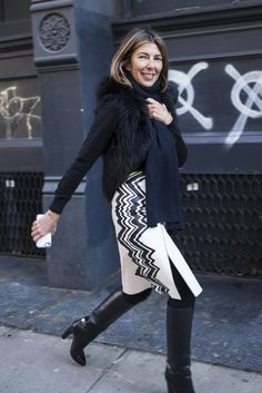 New York Fashion Week Fall 2014 Beauty Street Style: @ninagarcia