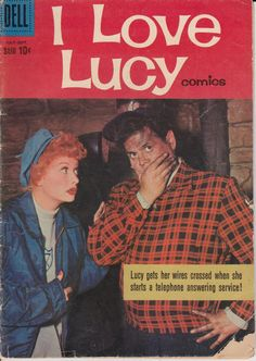 I Love Lucy 28 July 1960 Dell Comics Grade G by ViewObscura